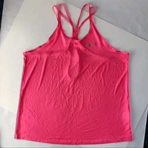 New Nike Dri Fit Strappy Tank Top